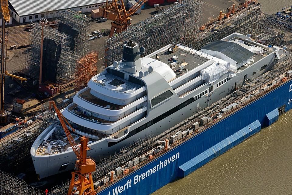 Solaris будет самой крупной яхтой поддержки в мире, других таких нет, и вряд ли в обозримом будущем появится