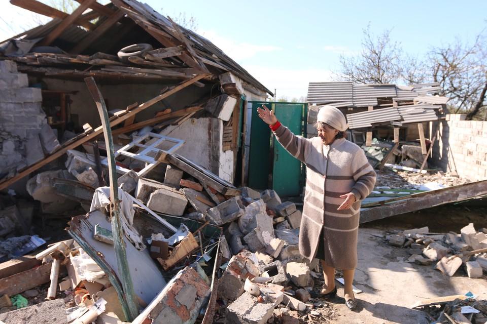 Донбасс опять подвергся обстрелу со стороны Украины.