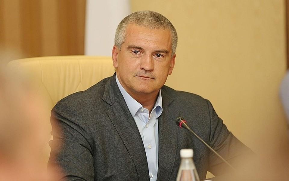 Украинская прокуратура обвинила Сергея Аксенова в «нарушении законов и обычаев войны». Фото: пресс-служба правительства РК