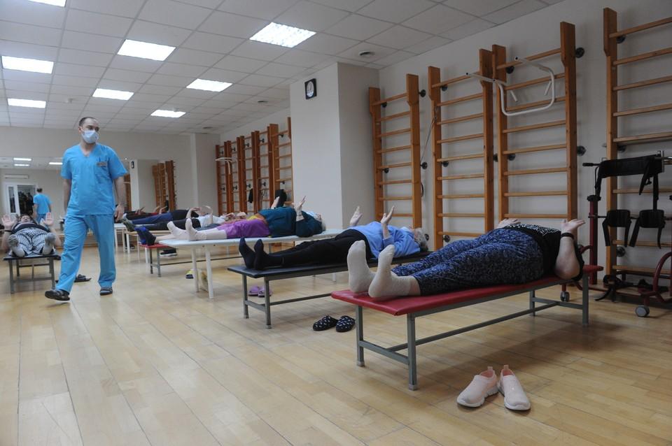 Реабилитационный центр рассчитан на 251 пациента.