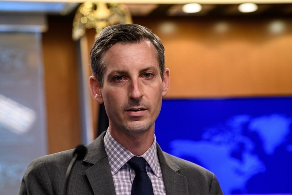 Руководитель пресс-службы госдепартамента США Нед Прайс