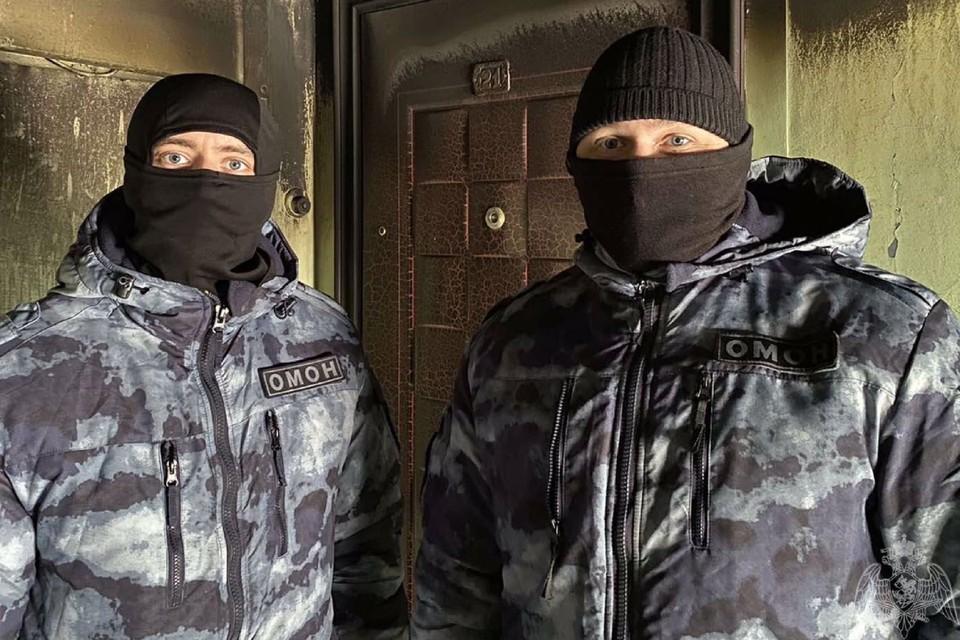 Василий (слева) и Александр. Фото: пресс-служба Росгвардии Иркутской области
