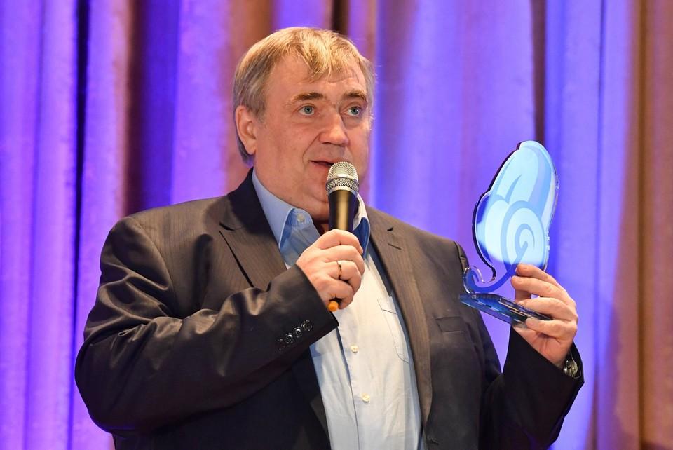 Российский спортивный телекомментатор Юрий Розанов