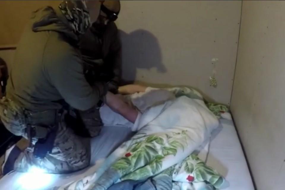 Готовившего теракт калининградца задержали в собственном доме.