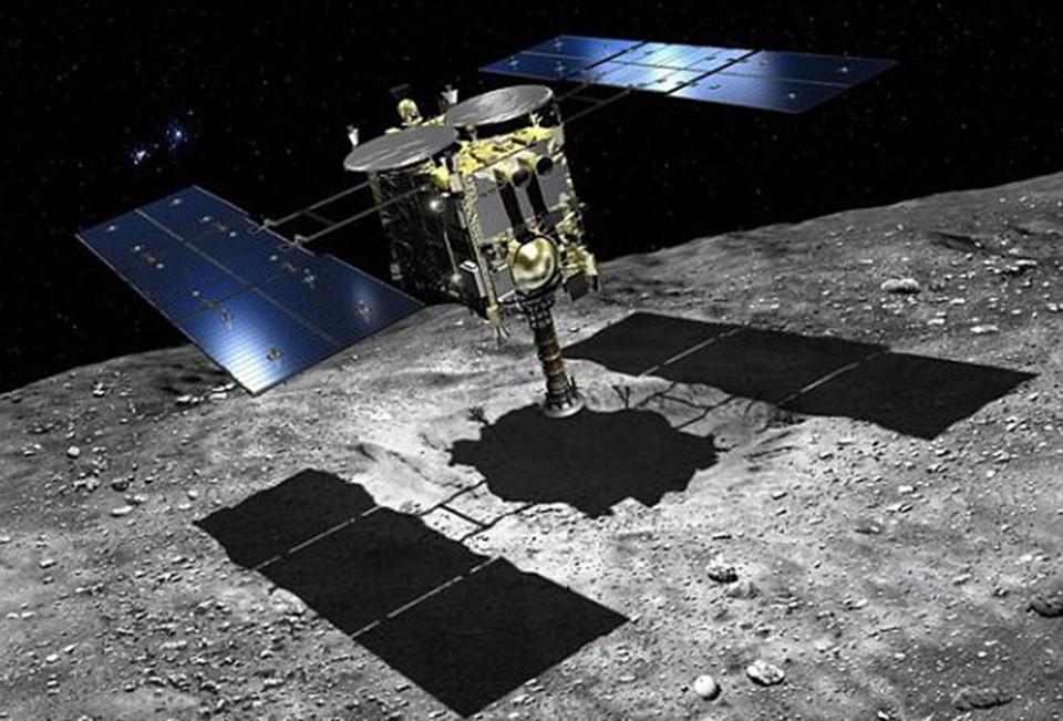 Уникальные образцы появились на Земле, благодаря японскому зонду «Хаябуса».