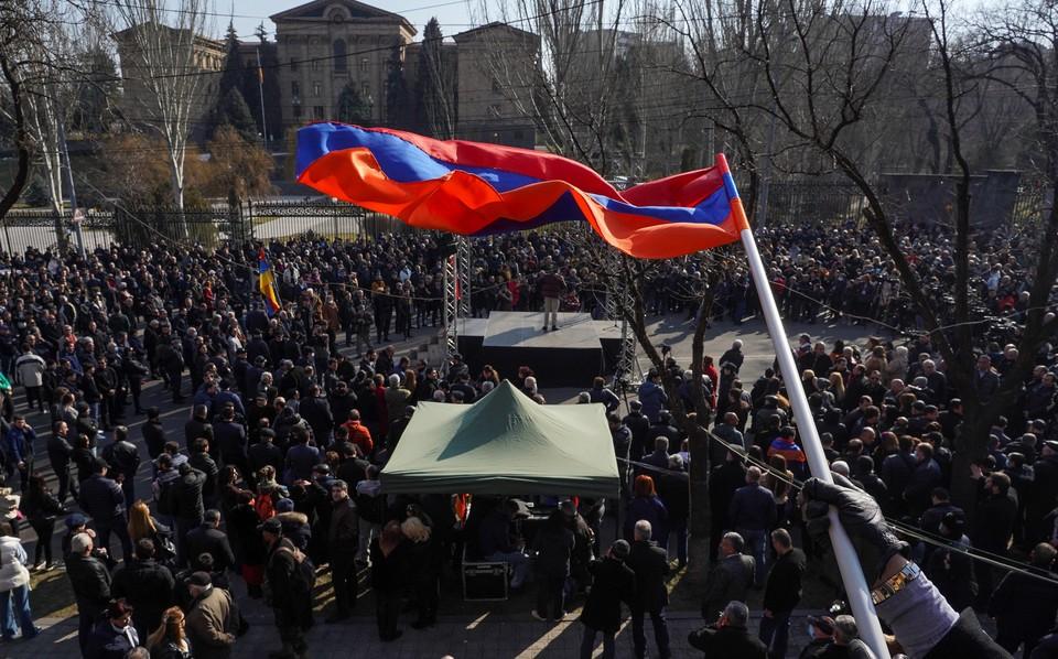 Митинги в Ереване 6 марта 2021: прямая онлайн-трансляция из Армении