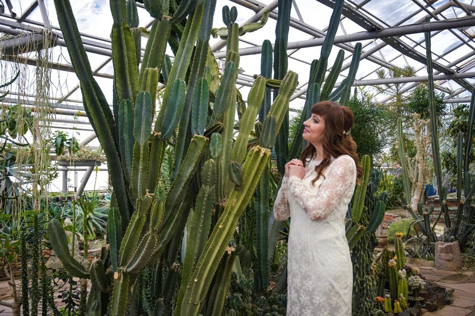 В Ботаническом саду очень красиво — здесь часто проводятся фотосессии.