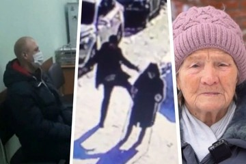 Сибиряка, пнувшего ради забавы беспомощную бабушку в Бердске, отправили в СИЗО