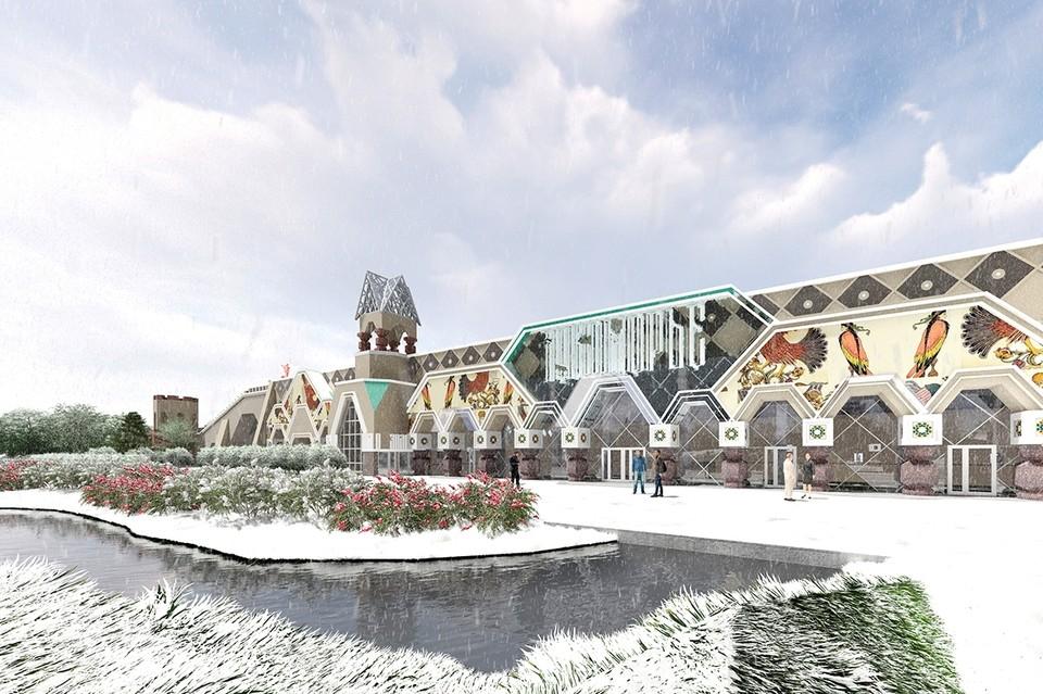 Парк сказок планируют построить в Пушкине. Фото: Архитектурная мастерская Мамошина