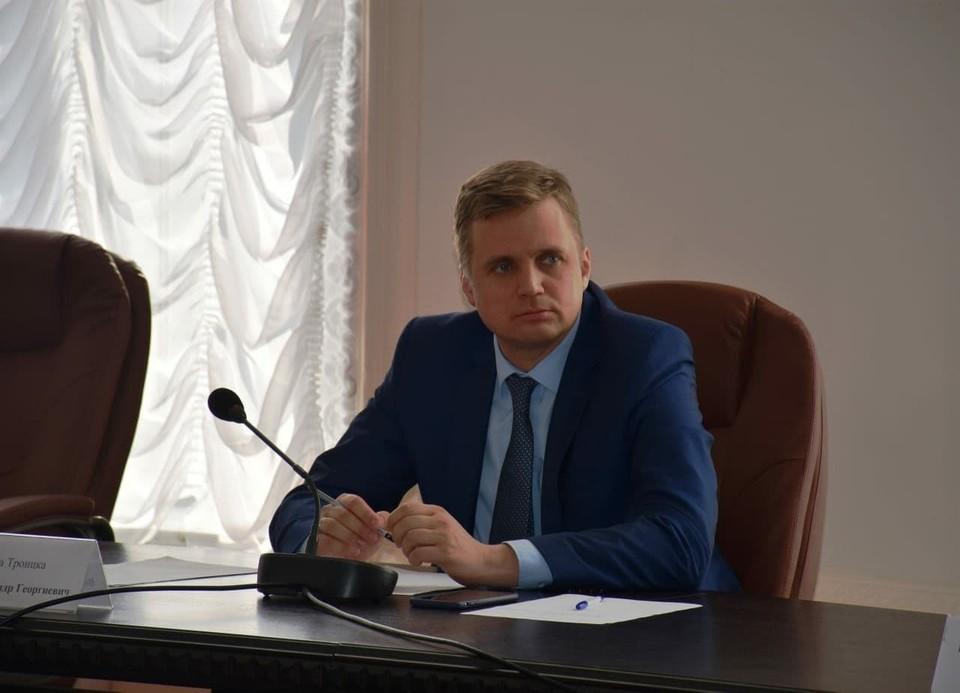 Александр Виноградов пробудет в СИЗО два месяца. Фото: администрация города Троицка Челябинской области / Vk.com
