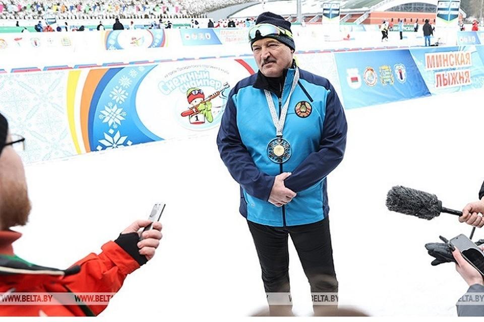 """Александр Лукашенко назвал три главных желания белорусов: """"Хотят, чтобы в стране было тихо, спокойно, было нормально жить"""". Фото: БелТА."""