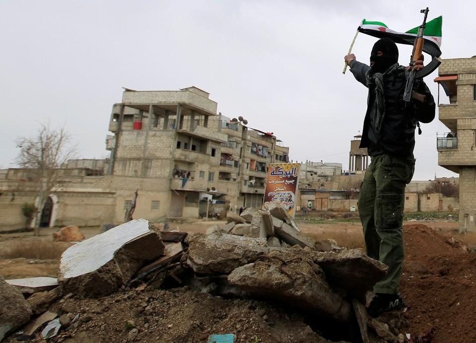 Сирийские силовики предотвратили тройной теракт в Дамаске