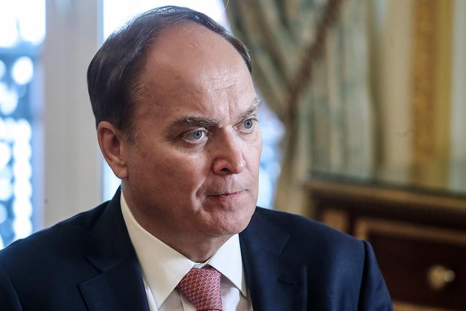 Посол России в США Анатолий Антонов. Фото: Валерий Шарифулин/ТАСС