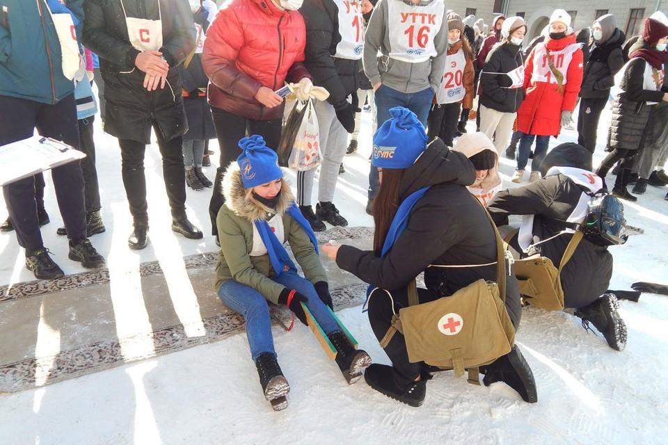 14 марта в СГУПСе прошла традиционная «оборонка». Фото: Центр по связям с общественностью СГУПС.