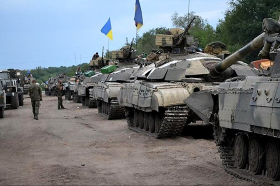 Все выглядит как подготовка к наступлению украинской армии. Фото: штаб ООС