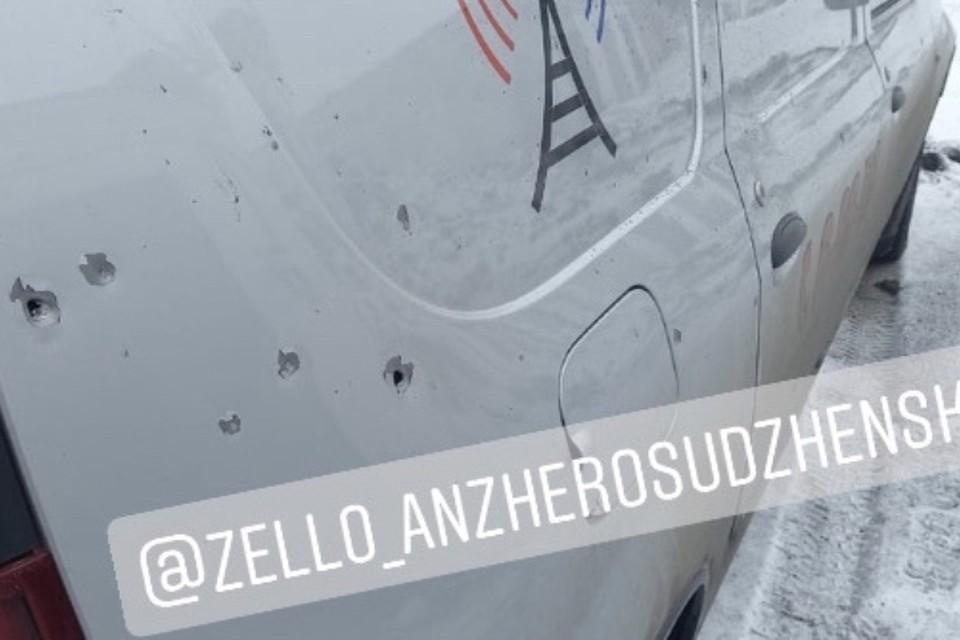 Следком назвал взрыв в Анжеро-Судженске покушением на убийство. ФОТО: vk.com, ФОТО:Zello.АвтоКанал: Анжеро - Судженск(дороги)