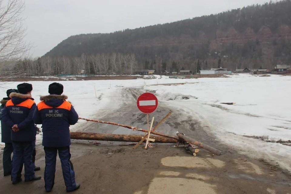Три ледовые переправы закрыли в Иркутской области 25 марта