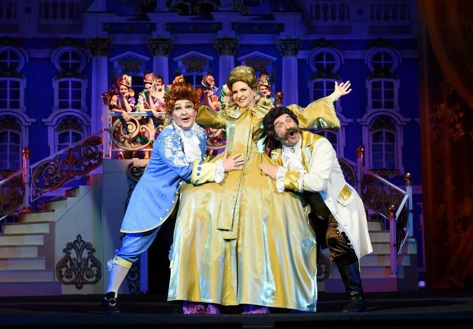 Музыкальный театр Кузбасса приглашает кемеровчан и гостей города на спектакль «Голубая камея». Фото: Музыкальный театр Кузбасса.