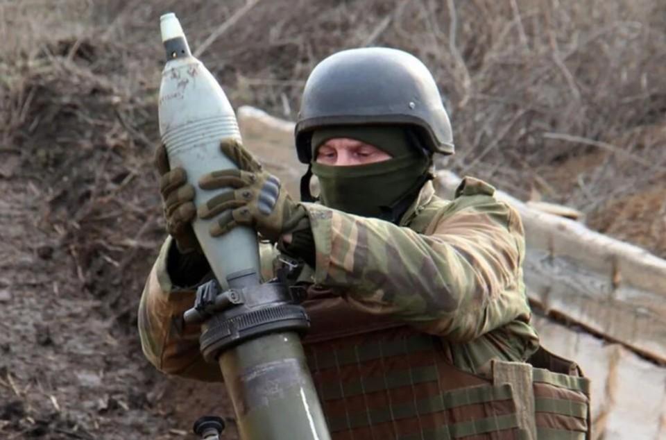 В Донбассе украинские военные обстреляли школу. Фото: штаб ООС