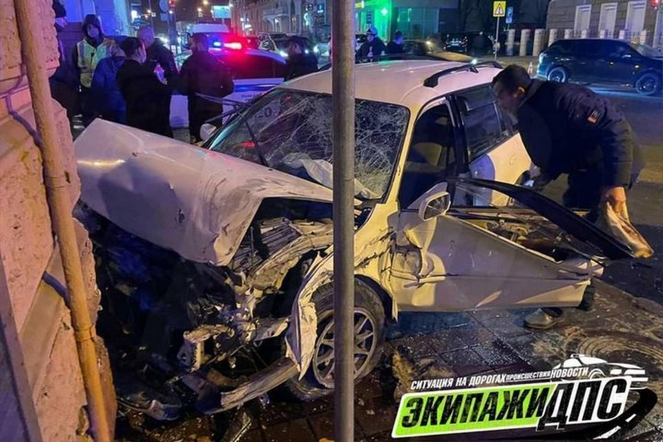 Авария случилась на Светланской. Фото: instagram/dps_vl