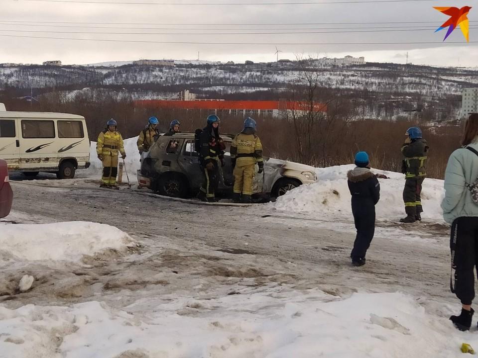 Машина выгорела полностью. Автор фото: Денис Безус
