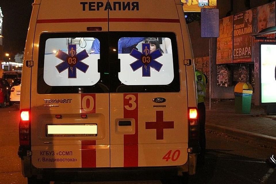 Ребенок попал под машину во Владивостоке