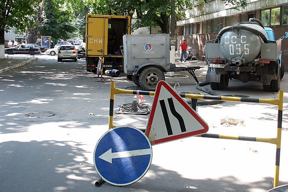 Улицу Крянгэ перекроют почти на месяц.