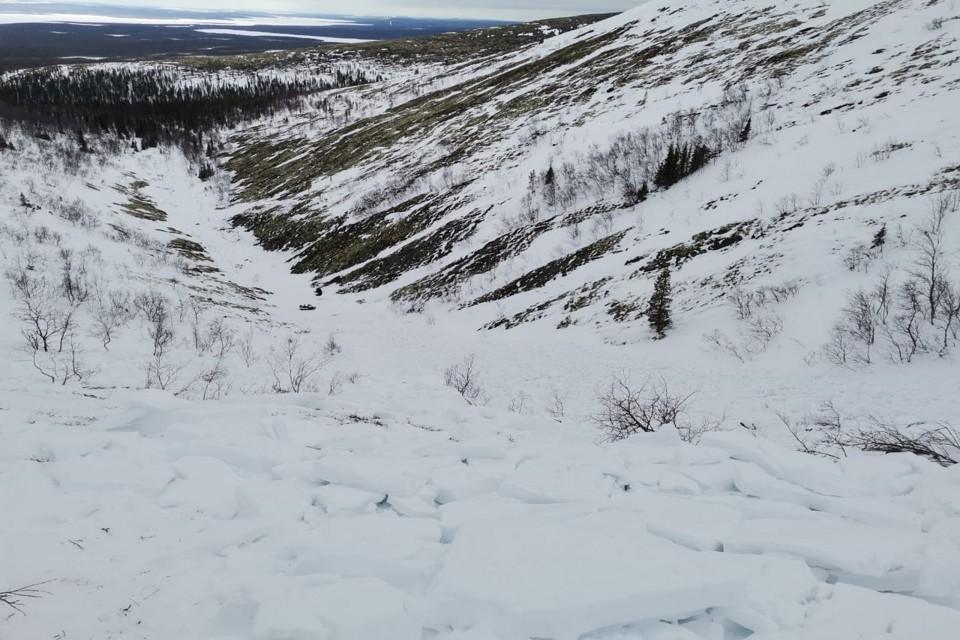 Юные туристы должны были на лыжах идти только равниной. Фото: СУ СКР по МО