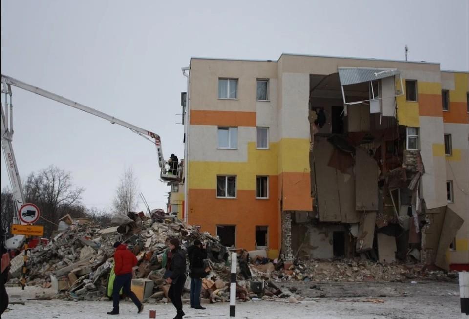На момент обрушения в доме находилось 24 человека.