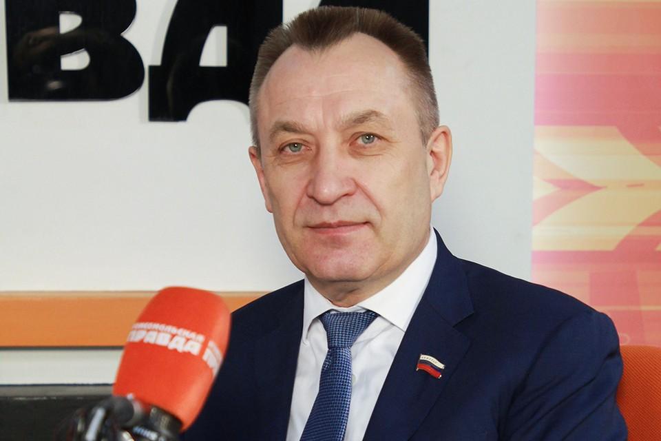 Николай Степанович Труфанов, председатель комитета по собственности и экономической политике Заксобрания Иркутской