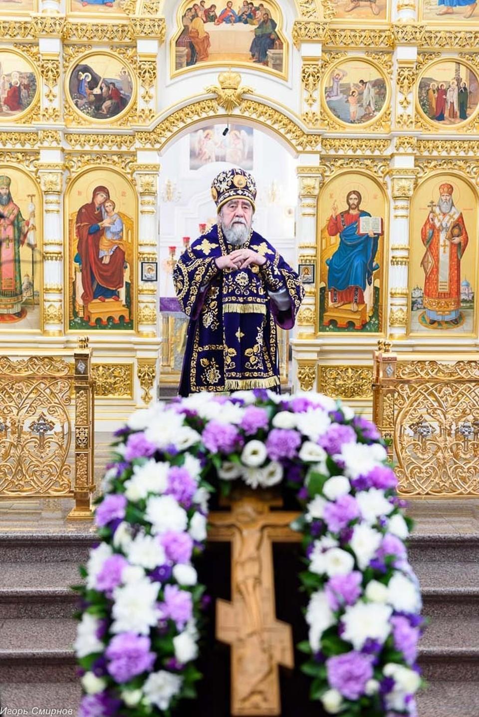 Омский митрополит сейчас соблюдает пост 2 раза в неделю.