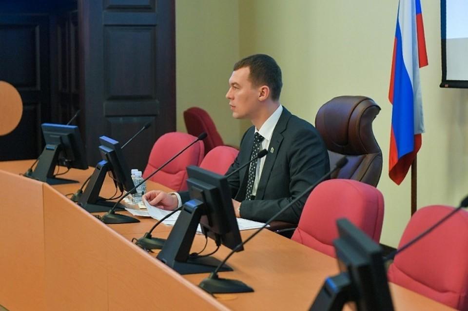 Глава Хабаровского края заявил, что проблемы обманутых дольщиков должны окончательно разрешиться в течение 2021 года