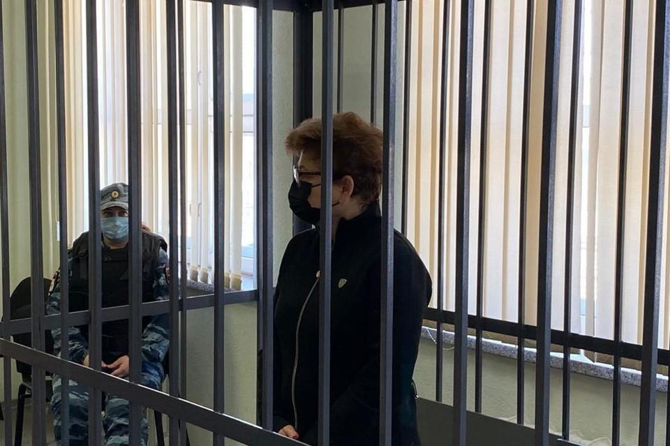 Чиновницу заключили под стражу на два месяца