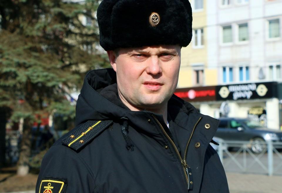 Капитан-лейтенант Станислав Муратов.