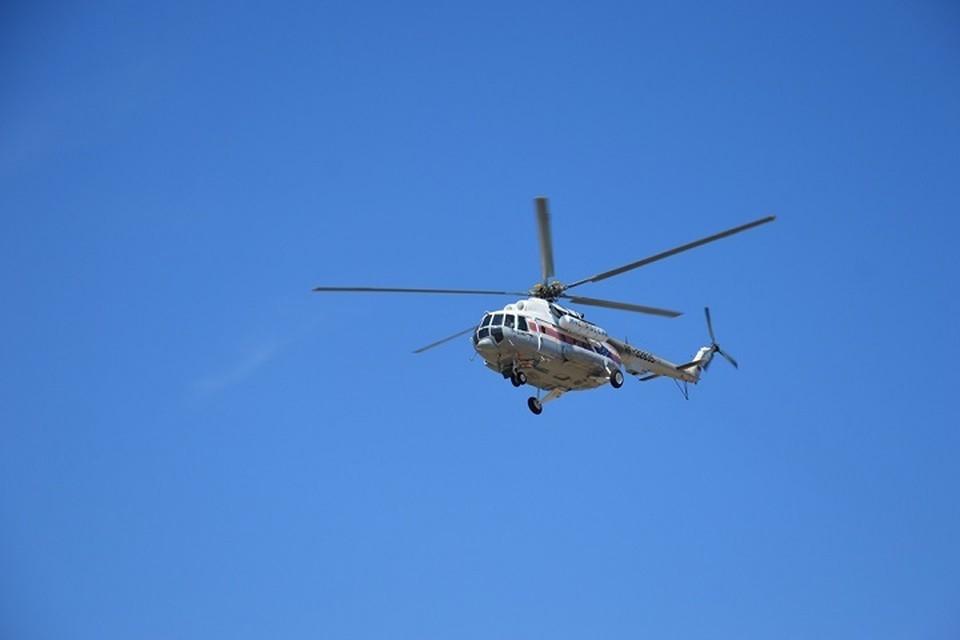Вертолетом санавиации доставили пациента из Чегдомына в Хабаровск