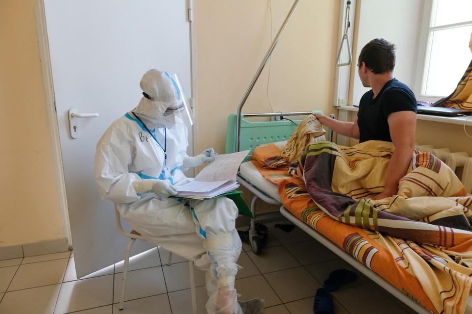 Диагноз «коронавирус» поставлен у 1304 пациентов инфекционных стационаров.