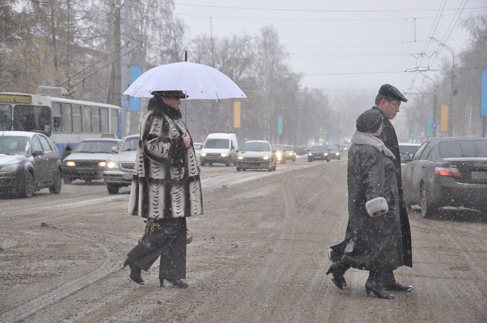 Снег с дождем ожидаются в Удмуртии 5 апреля