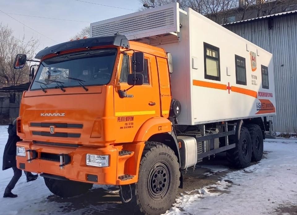Благодаря мобильным центрам, растет доступность медицинской помощи. Фото: amurobl.ru