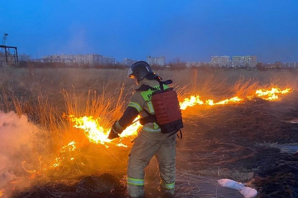 В Хабаровском крае умножились очаги горения травы