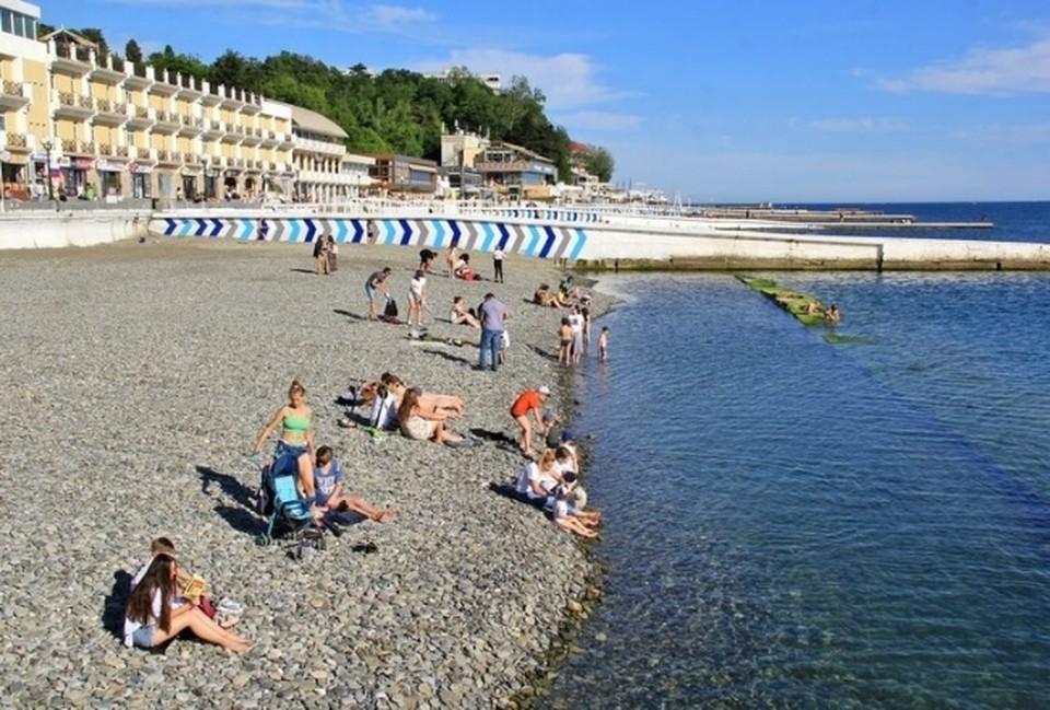 В этом летнем сезоне в Сочи ожидают примерно 4 млн отдыхающих