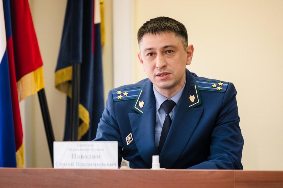 Новым главным прокурором Мурманской области стал Сергей Паволин. Фото: gov-murman.ru