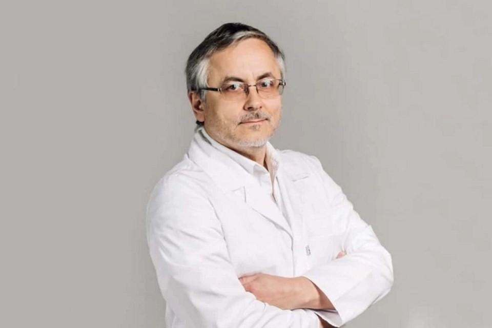 Врача-нефролога Александра Земченкова освободили от должности в Смольном. Фото: Мариинская больница