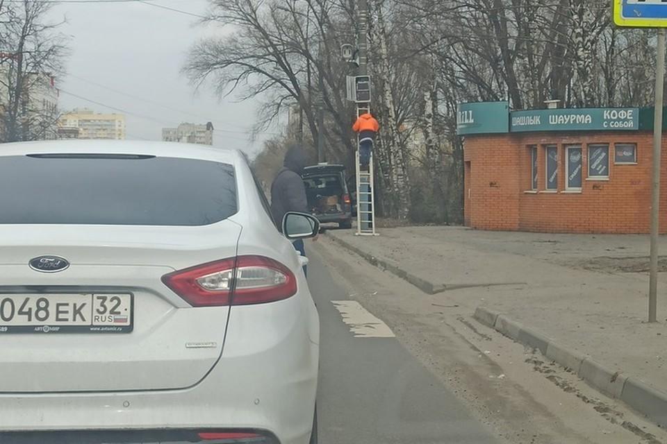 "Фото: vk.om. сообщество ""ЧП и ДТП Брянск."""