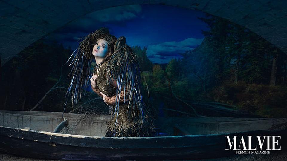 Деятели искусства фотографии также вдохновляются древними городскими легендами. Фото: пресс-служба мэрии Томска.
