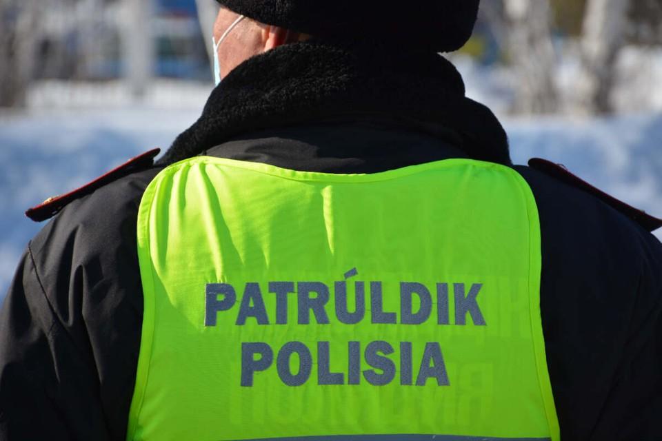 Хулигана на месте преступления задержал патруль полиции