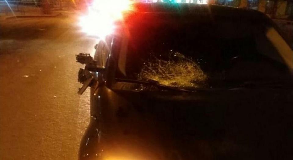 На улице Малыгина в Тюмени девушка на «Range Rover» сбила мужчину.