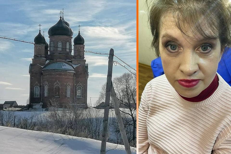 Наталья (на фото) узнала о своей смерти от полицейских. Дочек она бросила в этом монастыре, а позже тут прошли похороны другой женщины .