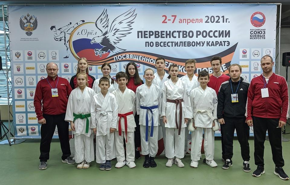 Масштабные соревнований по каратэ прошли в Орле. Фото предоставлено организаторами
