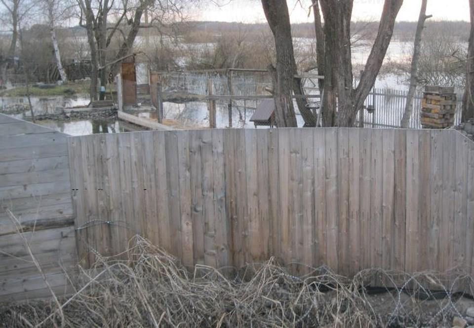 В Брянской области продолжается весенний паводок.