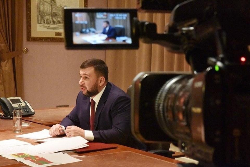 Глава ДНР рассказал о вариантах устранения кадрового дефицита в Республике. Фото: Сайт Главы ДНР